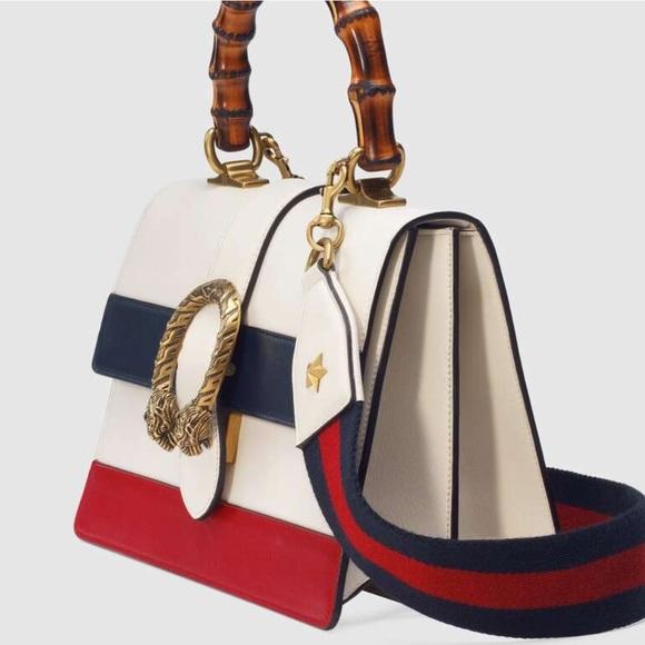 Gucci Handbags - Gucci Dionysus medium top handle bag